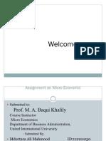 Micro Economics Slides