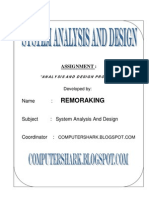 System Analysis and Design Practical Guide
