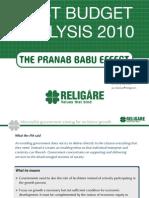 2010 Budget Analysis 26Feb10