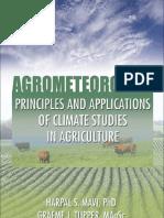 Agro Meteorology
