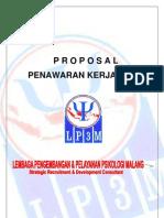 Proposal Penawaran Lp3m