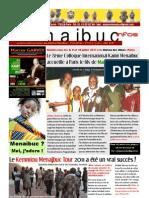 La lettre d'information des éditions Menaibuc - Trimestriel - n°1 (mai /juin /juillet 2011 )