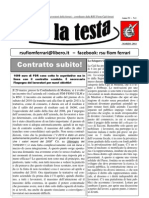 Su La Testa- Marzo 2011