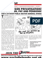 Socialist Party POA Conference Bulletin
