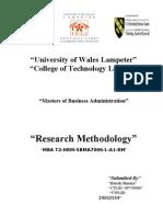 Research Methods Harish Sharma