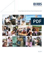 RBS Annual Review and Summary Financial Statement 2010