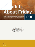 7 Hadith About Friday
