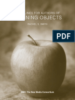 Guidelines for Authors of Learning Objects