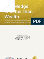 5 reasons why knowledge is better than wealth
