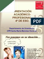 Presentación familias 4º de ESO