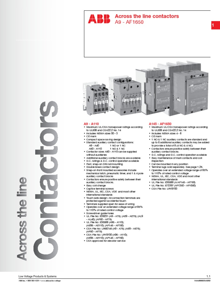 abb a26 30 10 contactor wiring diagram wiring library