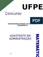 a Assistente Em Adm Pernambuco