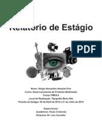 Relatório de Estágio do Curso de Desenvolvimento de Produtos Multimédia
