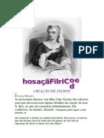 CRIAÇÃO DE FILHOS -  SUSANA WESLEY