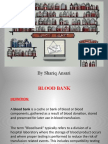 Blood Bank Ppt