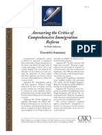 Answering the Critics of Comprehensive Immigration Reform, Cato Trade Briefing Paper No. 32
