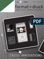 format+druck 20 Kundenmagazin der Vogt Foliendruck GmbH