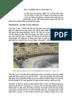 Hồ chứa ô nhiễm giữa lòng phố cổ