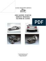 2003 Xk Service Training Guide