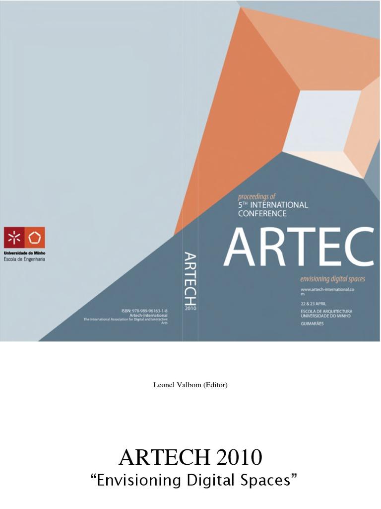 Artech - Coreografia Digital Interativa | Visualization (Graphics ...