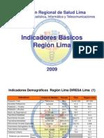 Indicadores Lima Provincias