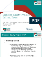 Diabetes Equity Project