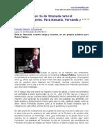 Fernando Garavito - El paraíso es un río de limonada natural