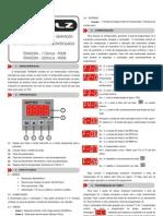 Manual TDH033N - 110_220Vca - P008