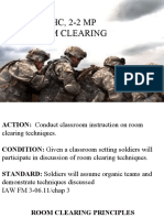 Room Clearing Principles