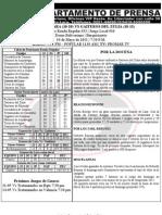 Reporte 33 Guaros-gaiteros Juego 3 Barquisimeto