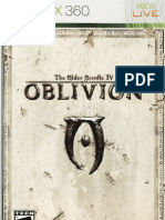 The Elder Scrolls IV Oblivion Game Manual