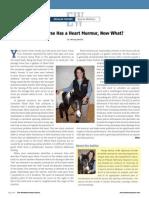 PC 110510 NWHS Article Mollat Heart Murmur