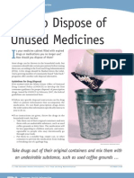 FDA-Drug Disposal Guideline
