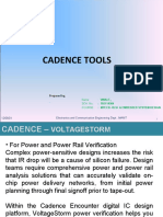 Vlsi Cadence Tools Voltage Storm Vinai 2011