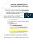 Executive Summary Re NBC Defined in Constitution Plus 4 SCOTUS Cases