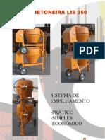 Catálogo Betoneira/Hormigonera LIS 350, empilhamento (pt)