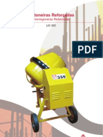 Catálogo Betoneira/Hormigonera LIS 350 (pt-es)