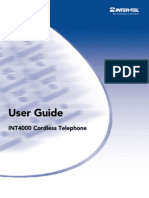 INT4000 User Guide (Prelim)