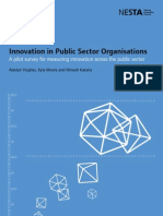 Innovation in Public Sector Organisations