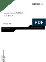 2006 January SN 1,4 Mark Scheme
