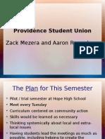 Evaluation Plan - Student Union - Mezera Regunberg