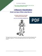 Duncan, Malcom C ~ Masonic Handshakes [PDF]