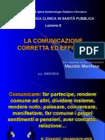 6 Comunicazione efficace