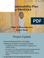 Evaluation Plan - Profesa - Haas