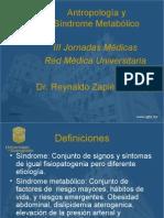 Antropología y Síndrome Metabólico