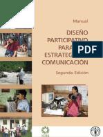 Manual diseño participativo estrategia comunicacion