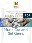 Hunt Cut Set Gems Lapidary