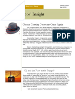 Don Filippos' Insight - 05/10/2011