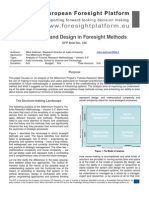 EFP Brief No. 180 Emergence and Design in Foresight Methods