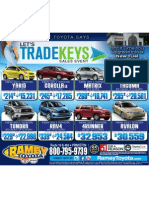 Let's Trade Keys Sales Event -Ramey Toyota-Princeton, West Virginia